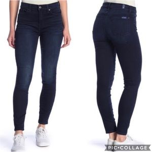 {7 For All Mankind} Gwenevere Skinny Jean Sz 27